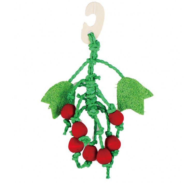 Игрушка для грызунов FAUNA international Томаты 22см дерево, люффа