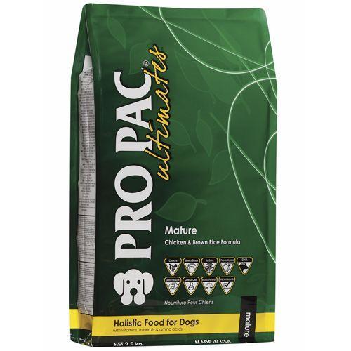 Корм для собак PRO PAC Алтимэйт матуре для пожилых, курица, коричневый рис сух. 2,5кг