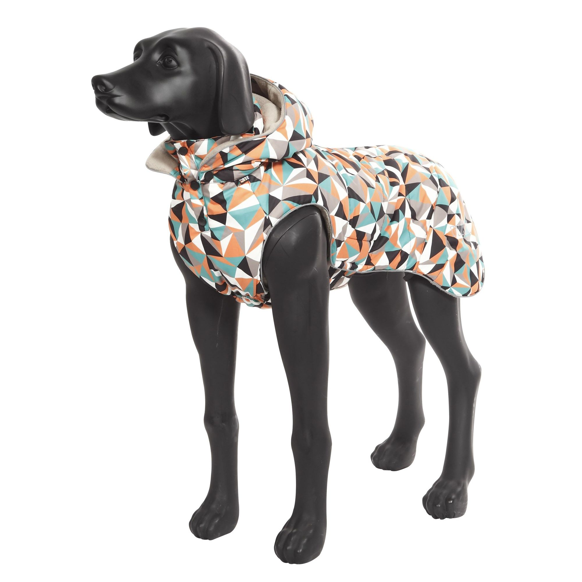 Куртка для собак RUKKA Blizzard Jacket с капюшоном утеплённая 25см Diamond ostin утеплённая куртка для девочек