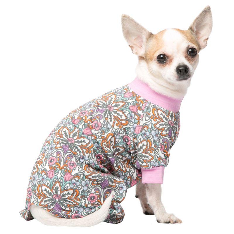Комбинезон для собак YORIKI Трикотаж Калейдоскоп унисекс размер S цены онлайн