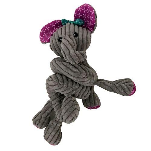 Игрушка для собак CHOMPER Mix and Match Слон в виде спирали с пищалкой 15 см plus botanical print mix and match bikini set