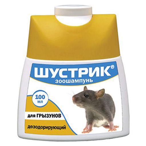 Шампунь для грызунов АВЗ Шустрик дезодорирующий 100 мл