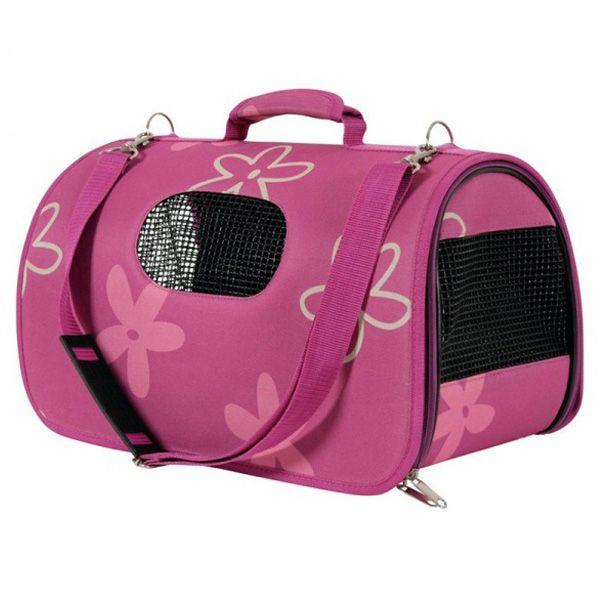 Сумка-переноска для кошек и собак ZOLUX 25х43,5х28,5см, M, сливовая