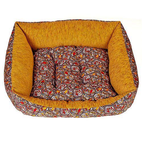 Лежак для животных HAPPY PUPPY Этнос 3 57х44х15см цена