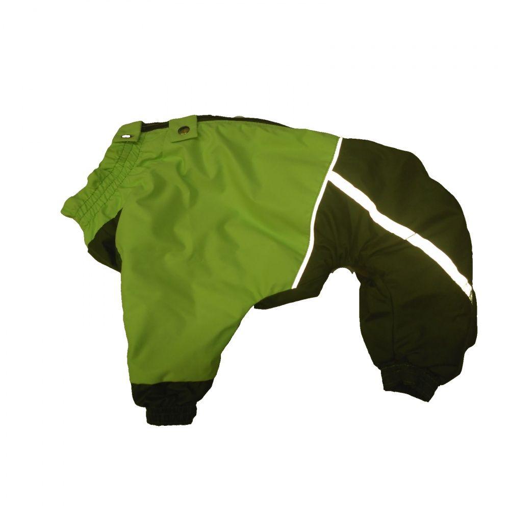 Комбинезон для собак ДОГ МАСТЕР породы МОПС молния сверху на флисе XL 32см мальчик цена
