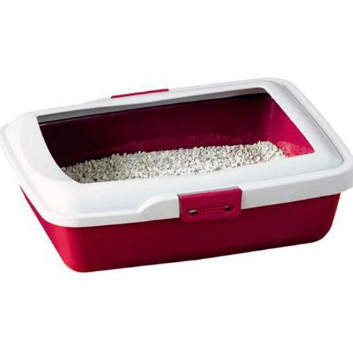 Туалет для кошек SAVIC 43х34,5х12 см с бортом цена