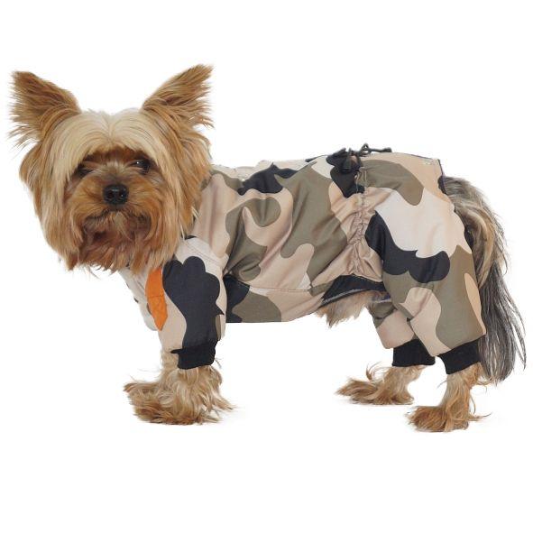 Комбинезон для собак YORIKI Рэмбо мальчик зимний размер S 21см цены онлайн