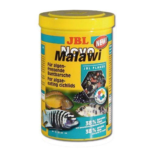 Корм для рыб JBL NovoMalawi Корм в форме хлопьев для растительноядных цихлид1л. (156г)