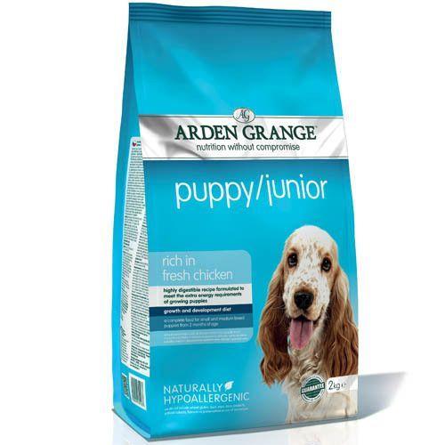 Корм для щенков и молодых собак ARDEN GRANGE сух. 2кг корм для собак arden grange