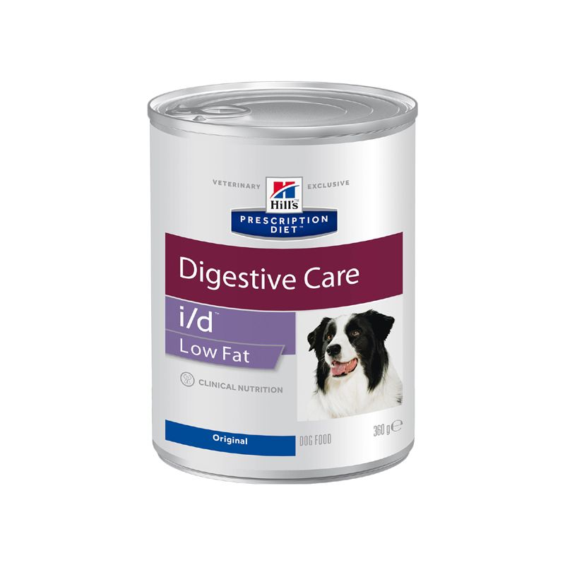 Корм для собак Hill\'s Prescription Diet Canine I/D лечение заболеваний ЖКТ низкокалорийный, курица конс. 360г