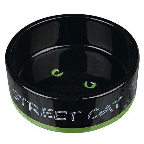 Миска для кошек TRIXIE Street Cat керамическая 12см 0,3л
