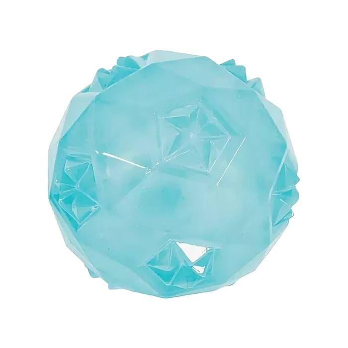 Игрушка для собак ZOLUX Мяч термопластичная резина бирюзовая 6см