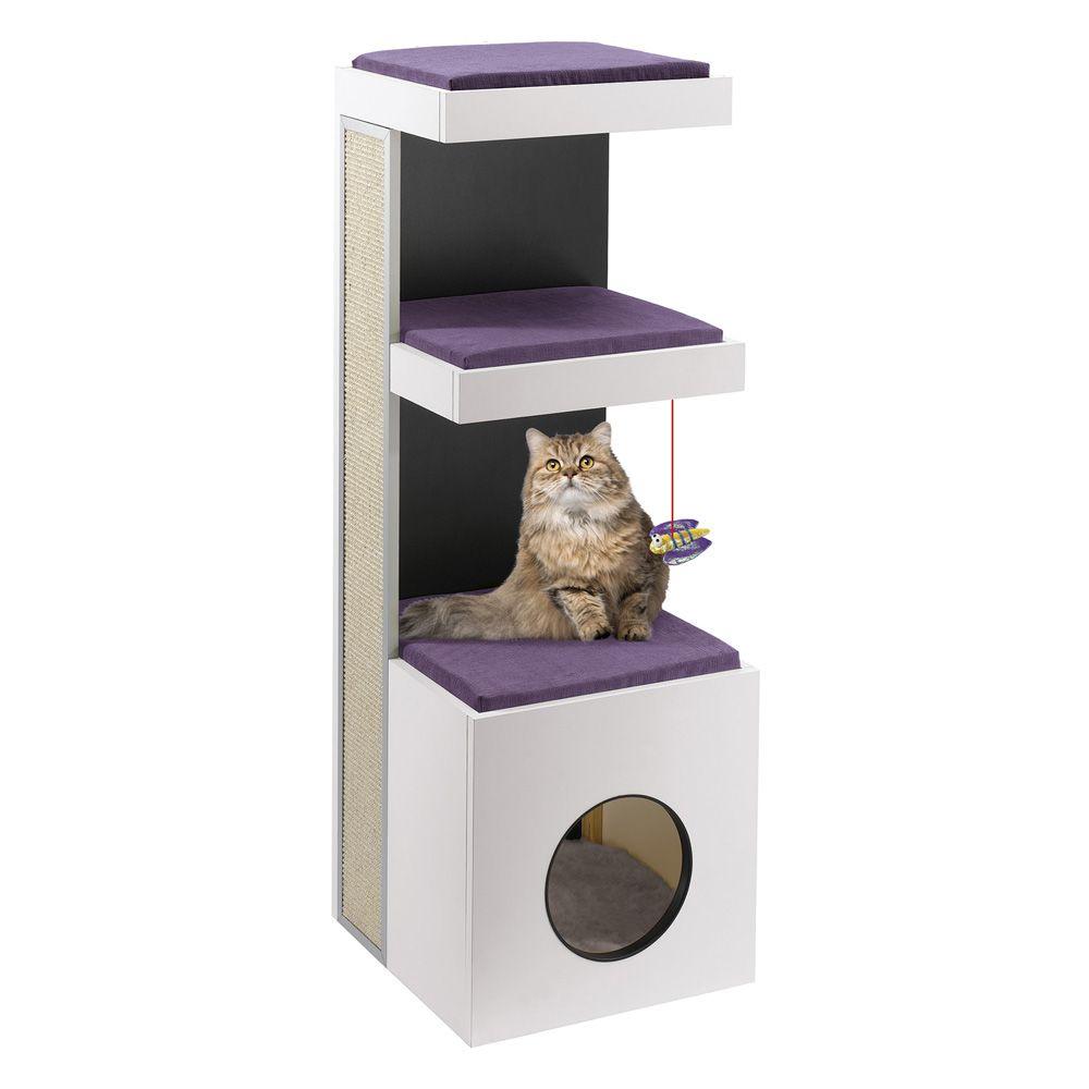 Спально-игровой комплекс для кошек FERPLAST TIGER 40х40х115см