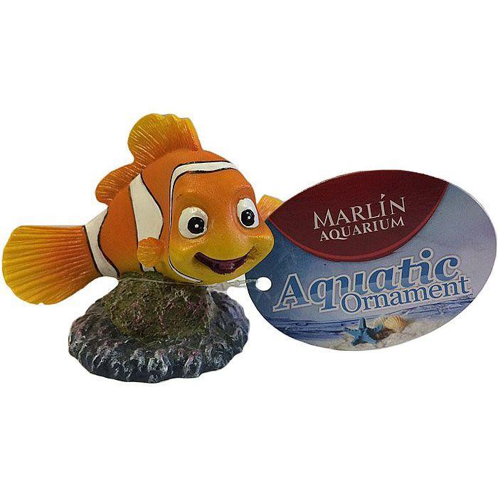 Декорация для аквариумов MEIJING AQUARIUM Рыбка Немо композиция из растений для аквариума meijing aquarium акваскейпинг 3 части ys 17118