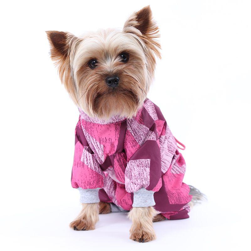 цена Комбинезон для собак YORIKI Абстракция девочка р-р S 20 см онлайн в 2017 году