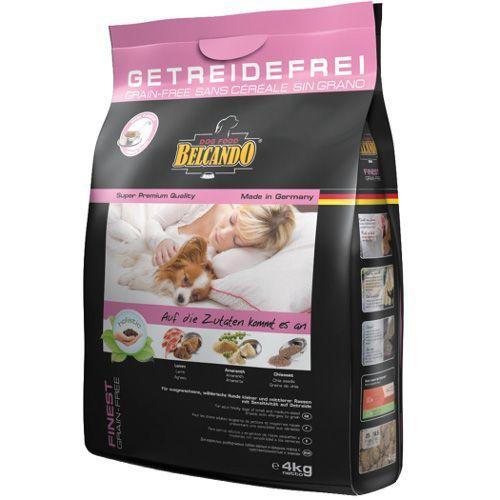 Корм для собак Belcando для мелких и средних пород, беззерновой, ягненок сух. 4кг фото