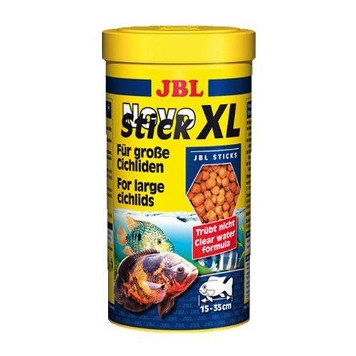 Корм для рыб JBL NovoStick XL для крупных цихлид в форме палочек 1000мл (400г) jbl agil питательный корм в форме палочек для черепах 250 мл 100 г