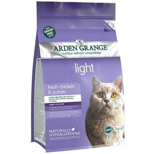 Корм для кошек ARDEN GRANGE диетический беззерновой сух. 2кг grange