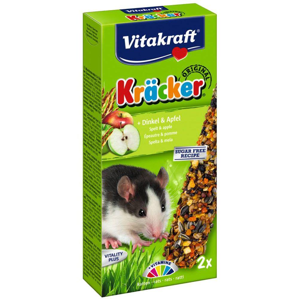 Корм для грызунов VITAKRAFT Крекеры для мышей с кукурузой и фруктами 2шт