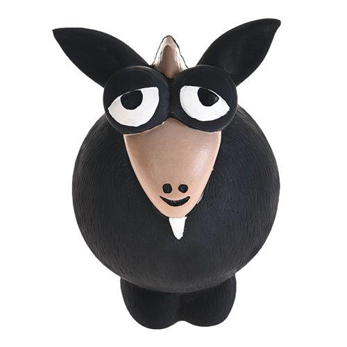 Игрушка для собак Foxie Козленок с пищалкой 12х7,5х7,5см латекс серый