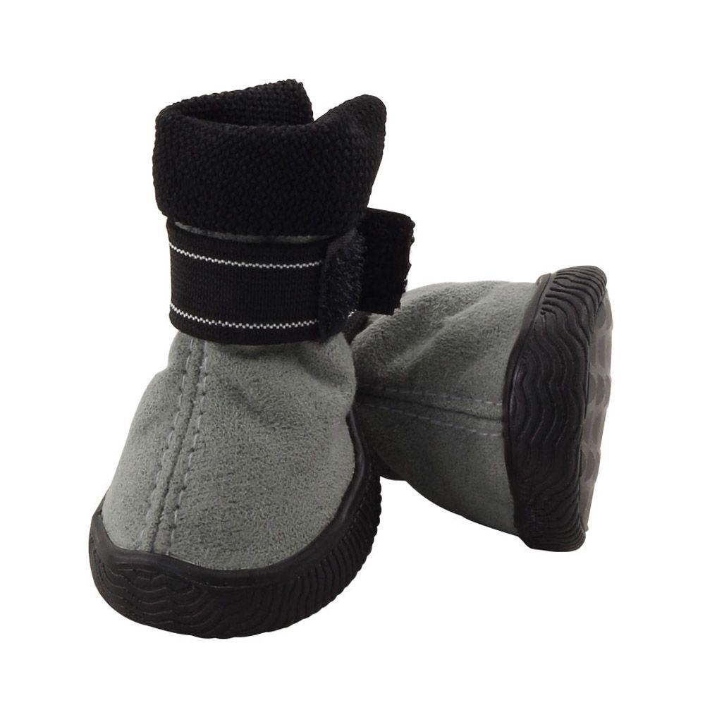 Ботинки для собак TRIOL YXS144-4 серые, 45х40х55мм (уп.4шт.)