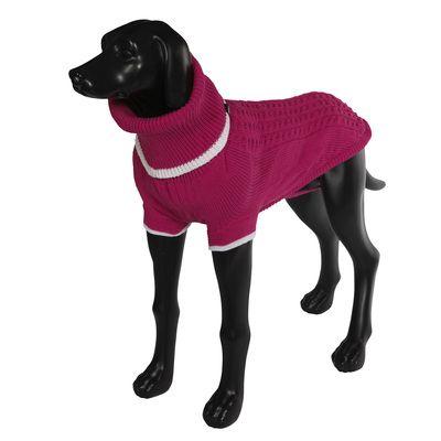 Свитер для собак RUKKA Mid Knitwear розовый размер XL 38см майка бельевая для девочки lowry цвет розовый gm 168 размер xl 34