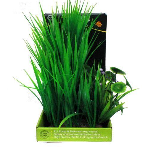 Искусственное растение МЕЙДЖИНГ АКВАРИУМ 22см, в картонной коробке №19 искусственное растение мейджинг аквариум 15см в картонной коробке 2