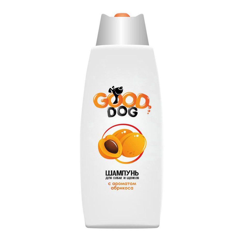 Шампунь для собак и щенков GOOD CAT&DOG с ароматом абрикоса 250мл