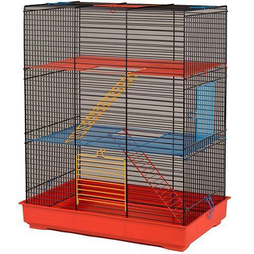 купить Клетка для грызунов INTER-ZOO Teddy Lux 2 для крыс по цене 3290 рублей
