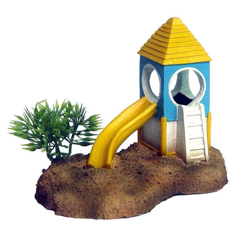 Декор для аквариумов PRIME Детская горка 11,6х7,6х8,8см цена