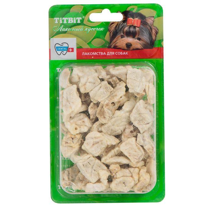 Лакомство для собак TITBIT Легкое говяжье для дрессуры - Б2-L лакомство для кошек titbit филе куриное соломка б2 s