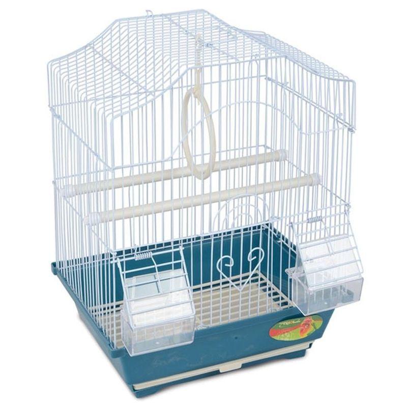 цена на Клетка для птиц TRIOL 2112 эмаль 30х23х39см