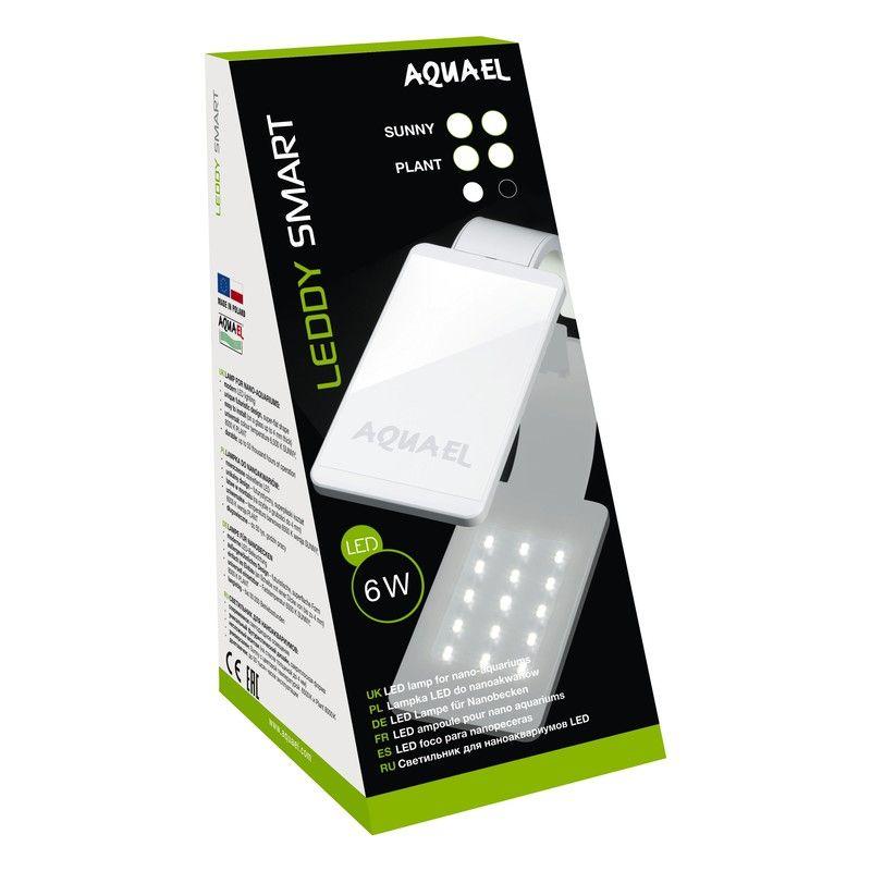 Светильник светодиодный AQUAEL LEDDY SMART LED ll Plant 6W черный (8000 K, 470 лм) встраиваемый светильник leddy quad 212181
