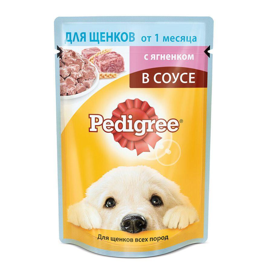 Фото - Корм для щенков Pedigree Ягненок конс. 85г корм для собак pedigree мини с говядиной конс пауч 85г