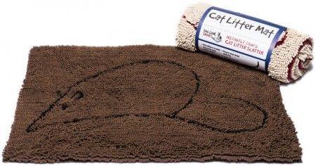 Коврик для кошек Dog Gone Smart супервпитывающий размер M 51х79см коричневый