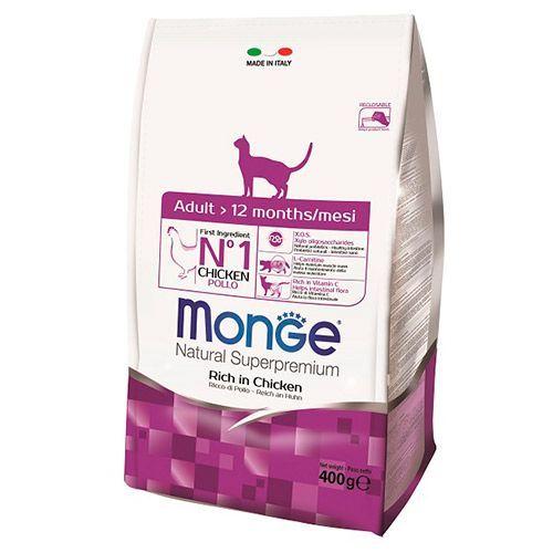 Корм для кошек Monge Cat курица сух. 400г