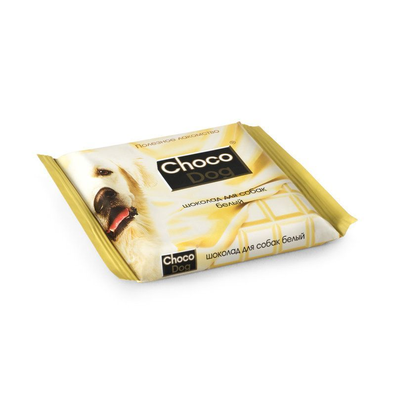 Лакомство для собак ВЕДА Choco Dog шоколад белый 15г, 6шт/уп