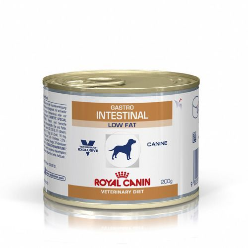 цены Корм для собак ROYAL CANIN Gastro Intestinal Low Fat Caninel, птица конс. 200г