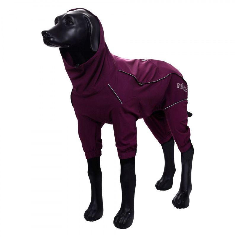 Комбинезон для собак RUKKA PROTECT OVERALL 35см фиолетовый
