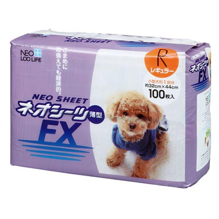 Пелёнки для кошек и собак NEO SHEET FX тонкие 32x44см 100шт фото
