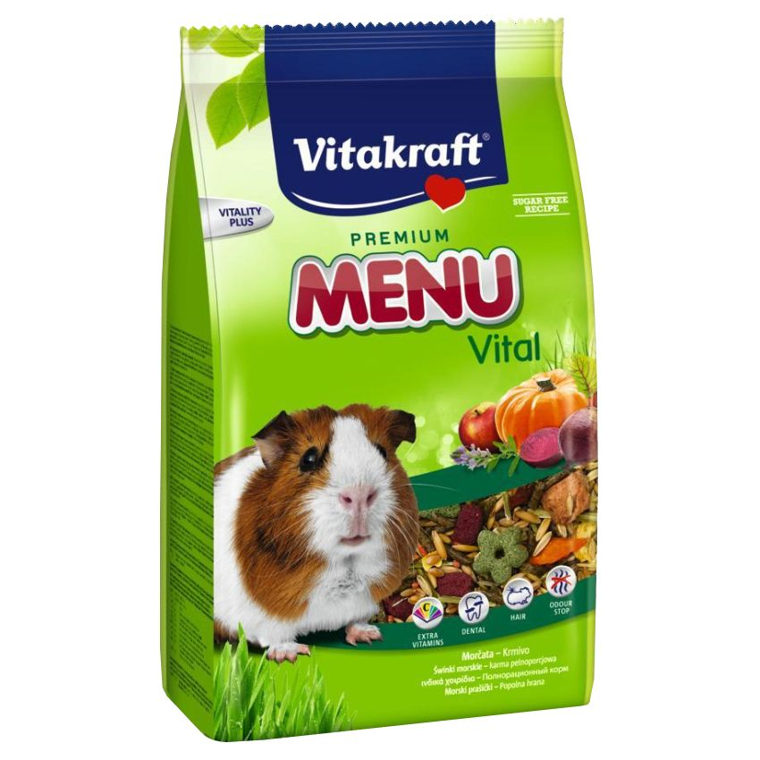 Фото - Корм для грызунов VITAKRAFT MENU для морских свинок сух. 400г корм для грызунов vitakraft для дегу сух 600г
