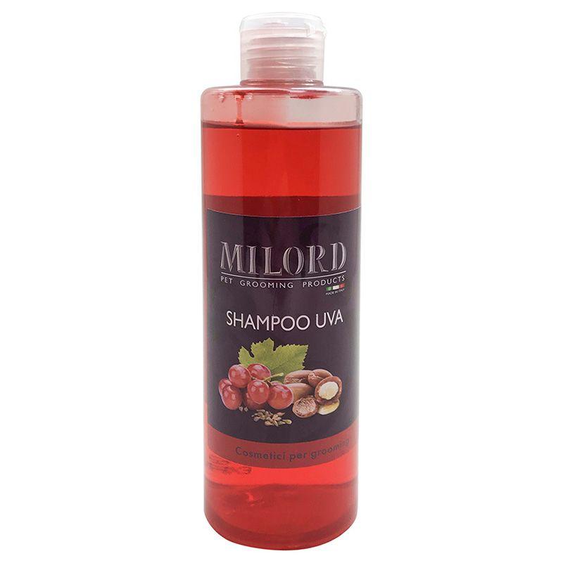 Шампунь MILORD Арган и виноград очищающий с пантенолом и маслом арганы 300мл шампунь с маслом арганы