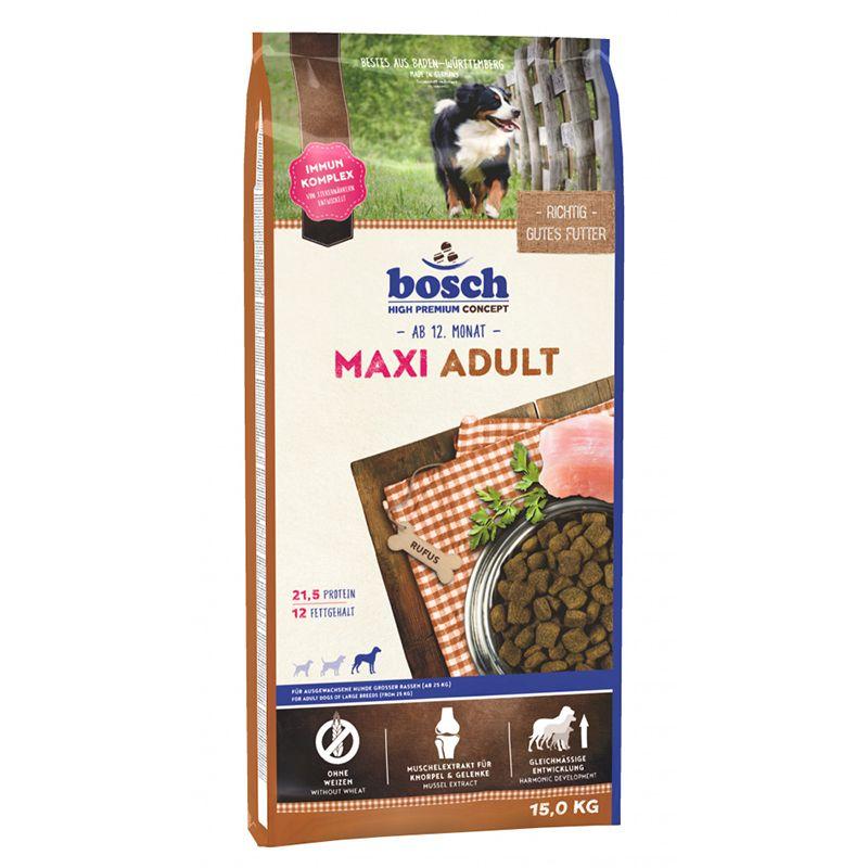 Корм для собак Bosch Maxi Adult для крупных пород, птица сух. 15кг maxi cosi адаптер для автокресла zoom 360 maxi cosi
