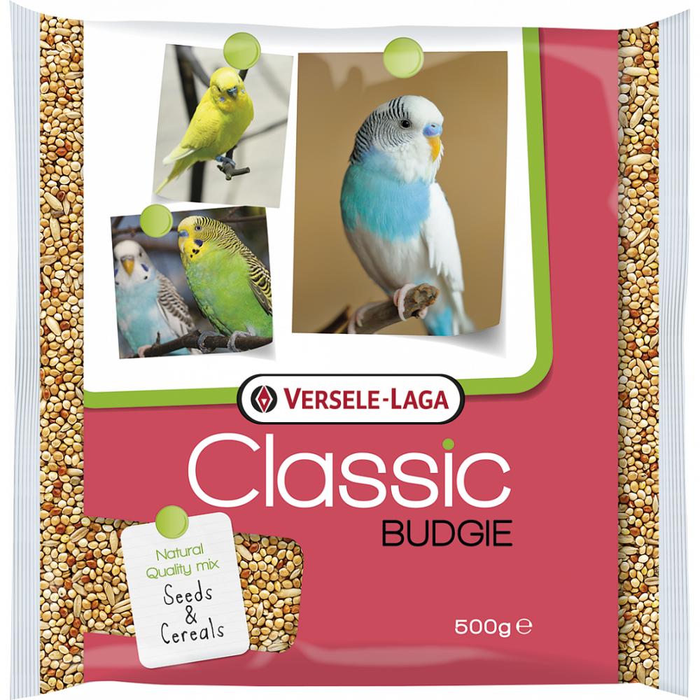 Корм для птиц VERSELE-LAGA Classic Budgie для волнистых попугаев 500г