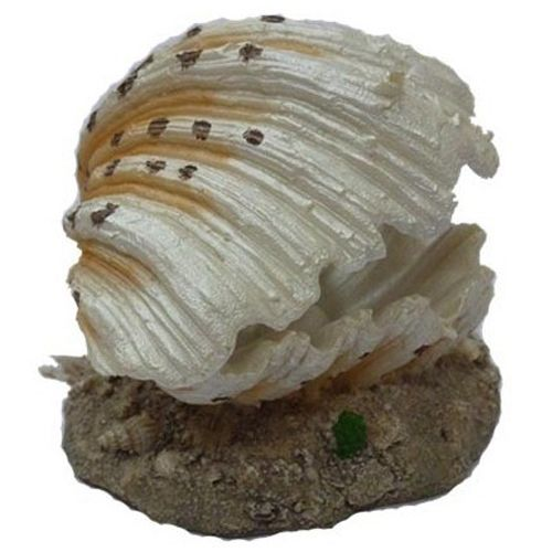 Грот для аквариума МЕЙДЖИНГ АКВАРИУМ Морская раковина (распылитель воздуха) 9,0х8,0х6,5см