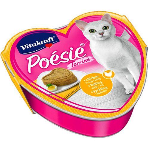 Корм для кошек VITAKRAFT Poesie курица в яйце, террин конс. 85г