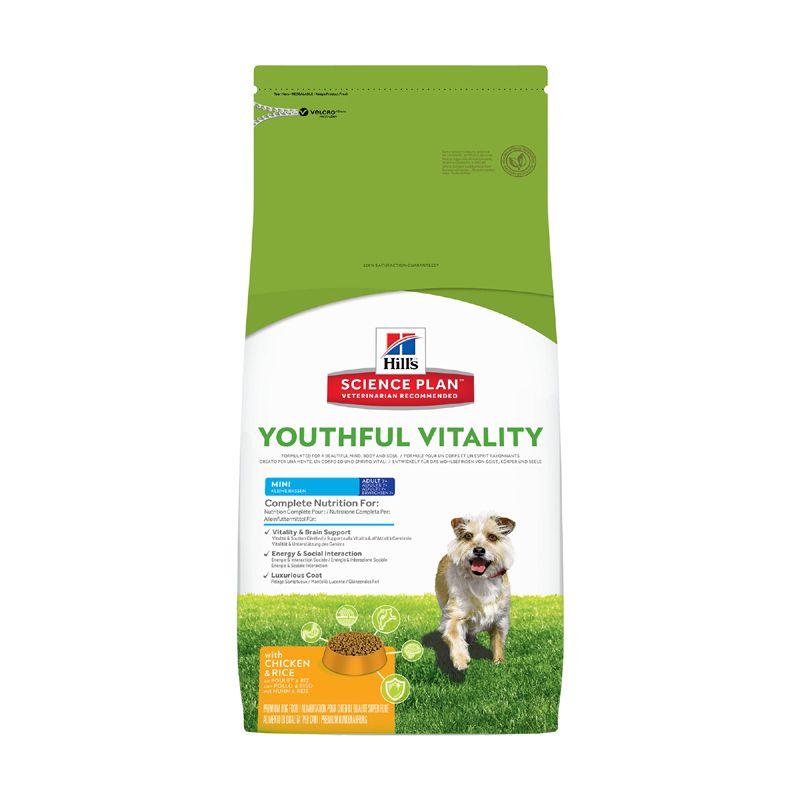 Корм для собак Hill's Youthful Vitality для пожилых собак мелких пород, Курица сух. 2,5кг