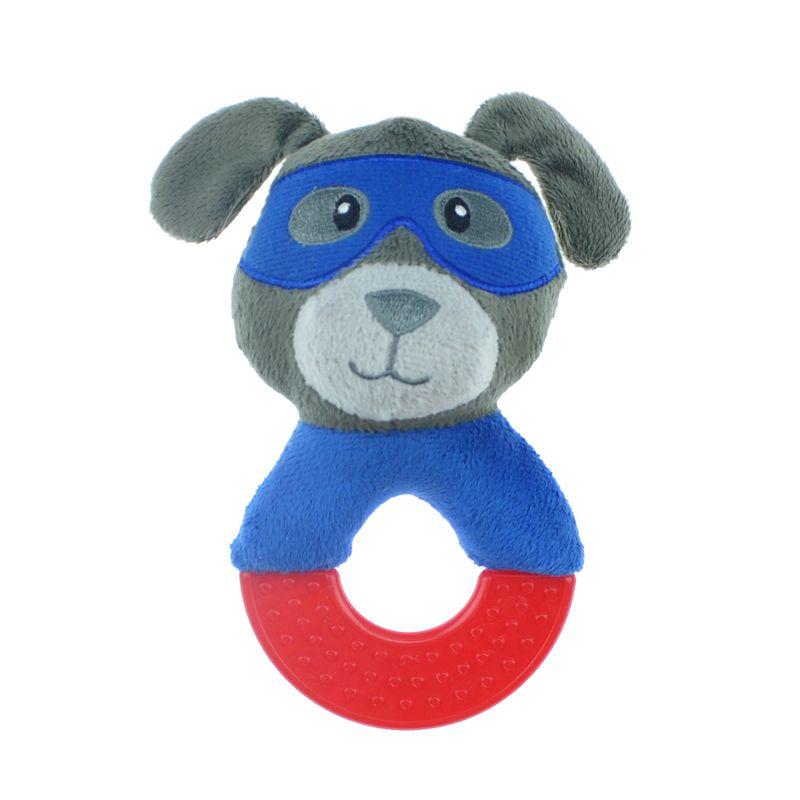 Игрушка для собак CHOMPER Spooky Собака на кольце с пищалкой 17 см фото