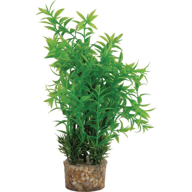 Растение для аквариумов ZOLUX пластиковое в грунте 7x5x20см M3