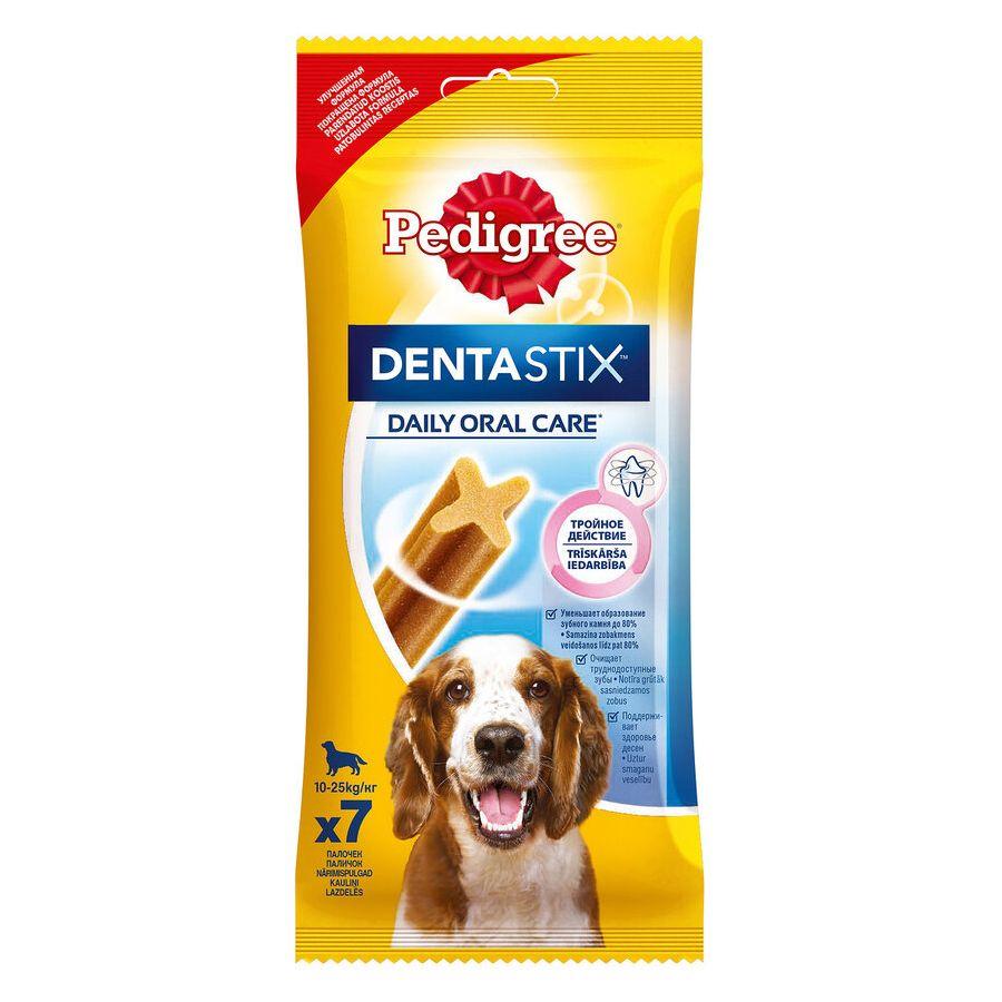 Лакомство для собак Pedigree Denta Stix ухода за зубами средних и крупных пород 180г